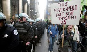 this government does not represent us riots