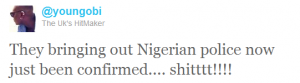 bringing out nigerian police