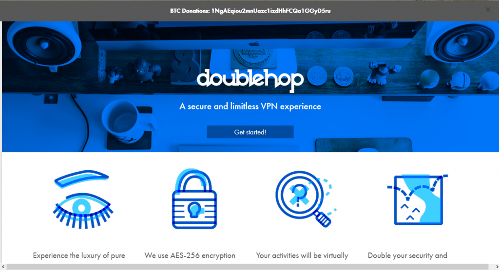 doublehop home page