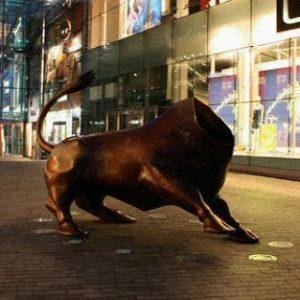 photoshopped bullring bull image