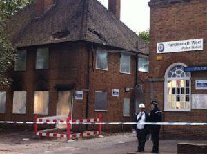 police station got burnt