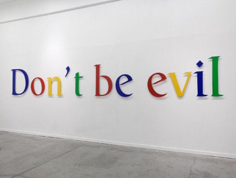 google's slogan don't be evil