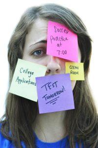 teenage girl with anxiety