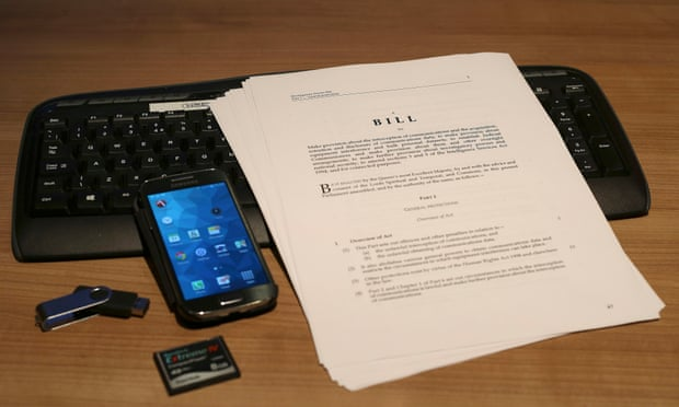 legal bill with electronic devices